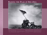 Raising the Flag at Iwo Jima, Art Print