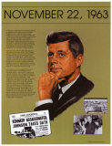 JFK Assassination, Art Print