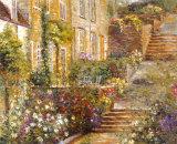 Jardins du patio I Posters par Michael Longo