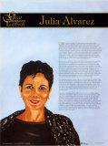 Les grands Latino-Am&#233;ricains contemporains, Julia Alvarez Poster