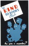 昔の読書クラブポスター - 本を大事にしよう ポスター