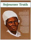 Great Black Americans - Sojourner Truth Plakaty
