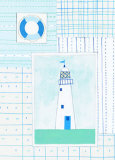 Life Preserver Prints by Lorraine Cook