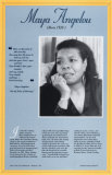 American Authors of the 20th Century - Maya Angelou Prints