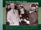 History Through A Lens - Lee Harvey Oswald Shot Pster