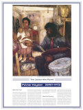African American Artists - Palmer Hayden - The Janitor Who Paints Prints by Palmer Hayden