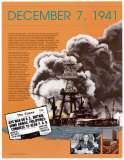 Pearl Harbor - World War II Wall Poster