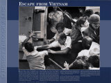 History Through A Lens - Escape from Vietnam Print