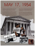 Ten Days That Shook the Nation - Brown v, Board of Education Print