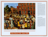 African American Artists - Allan Rohan Crite - School's Out Prints by Allan Rohan Crite