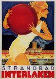 Strandbad Interlaken Prints by Martin Peikert