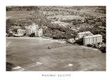 Plage de Waïkiki, Hawaï, le 22 juillet 1930 Posters