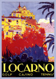 Locarno Poster von Daniele Buzzi