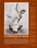 Great Black Innovators - Katherine Dunham Prints