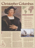 Great Explorers - Christopher Columbus Wall poster
