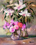 Enchantment Lilies I Prints by Allayn Stevens