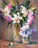 Enchantment Lilies II Prints by Allayn Stevens