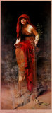 Priestess of Delphi Art PrintJohn Collier