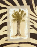 Zebra Palm I Prints by Marie Frederique