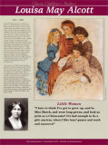 Classic Children's Authors - Louisa May Alcott Wall Poster