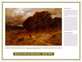African American Artists - Edward Bannister, Approaching Storm, Art Print