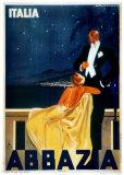 Abbazia Kunstdrucke von W. Zalina