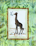 Jungle Giraffe Prints by Marie Frederique