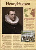 Les grands explorateurs, Henry Hudson Affiches