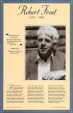 American Authors of the 20th Century - Robert Frost Print