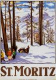 St. Moritz Kunstdrucke von Emil Cardinaux
