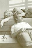Flötenspiel– Monroe und Dean Kunstdrucke von Paul Gasenhemier