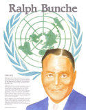 Great Black Americans - Ralph Bunche Posters