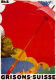 Grisons Suisse Affiches par Augusto Giacometti