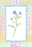 Patchwork Botanical I Poster by  Aldana