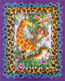 Wild Jungle I Poster by Marnie Bishop Elmer
