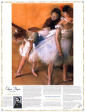 Masterworks of Art - The Dance Examination Posters por Edgar Degas