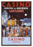 Casino Posters par  Jacomo