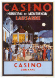 Casino Posters by Jacomo