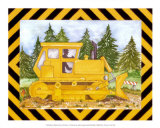 Bulldozer Print by Marnie Bishop Elmer