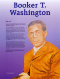 Great Black Americans - Booker T. Washington Poster