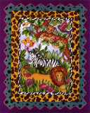 Wild Jungle II Print by Marnie Bishop Elmer