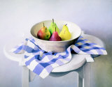 Bowl of Pears Posters by Peter Colvin
