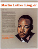 Heroes of the 20th Century - Martin Luther King Jr. Poster