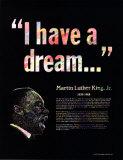 Great Black Americans - Martin Luther King Jr. - Art Print