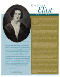 Great British Writers - George Eliot Posters