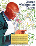 Great Black Americans - George Washington Carver Affiches