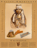 Culture des Indiens d'Amérique - Californie Affiches
