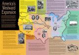 Westward Expansion Map Art