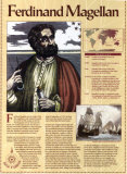 Great Explorers - Ferdinand Magellan Wall Poster
