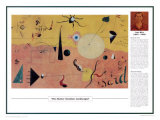 Twentieth Century Art Masterpieces - The Hunter Print by Joan Miró
